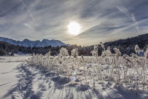 wintersonne-geroldsee