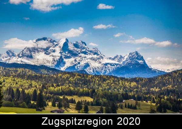 Titel Fotokalender zugspitzregion 2020