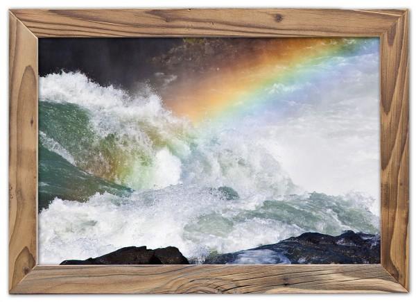 Regenbogen am Goðafoss