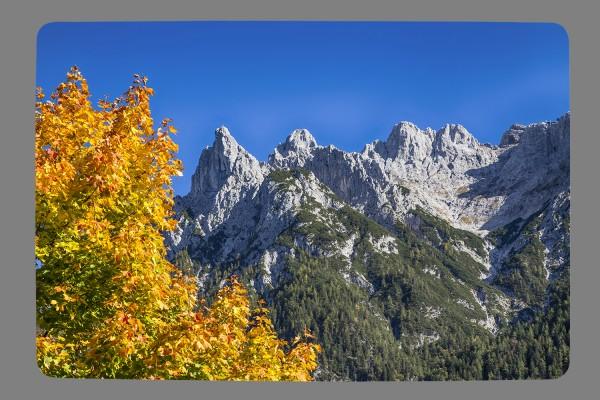 Fußmatte Blick auf`s Karwendel