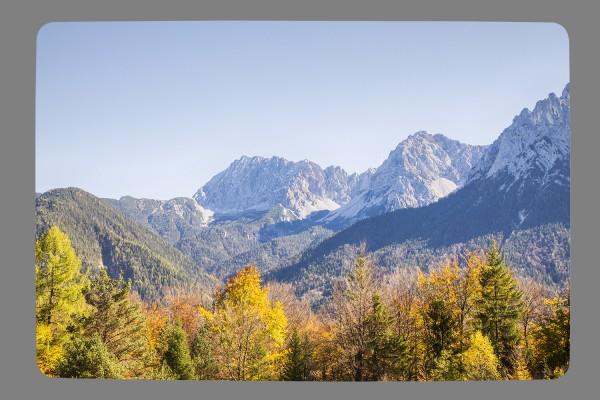 Fußmatte Herbst am Karwendel