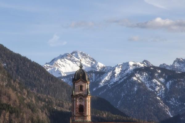 Tassenmotiv Kirchturm