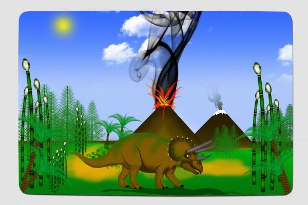 Fussmatte Triceratops