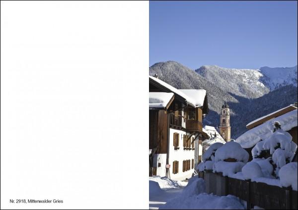 Weihnachtskarte Nr. 2918