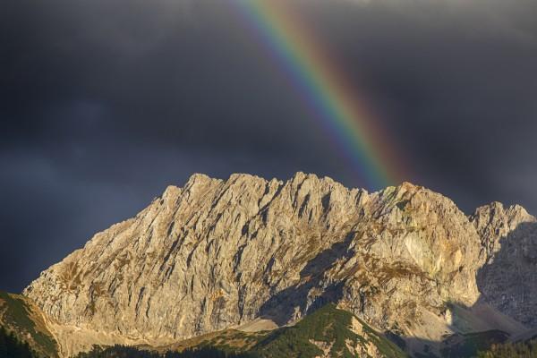 Tassenmotiv Regenbogen