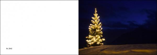 Weihnachtskarte Nr. 2941