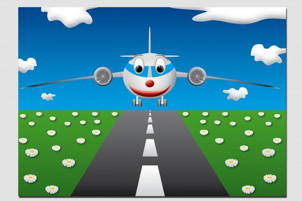 Tischset Flugzeug
