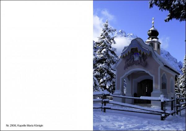 Weihnachtskarte Nr. 2906