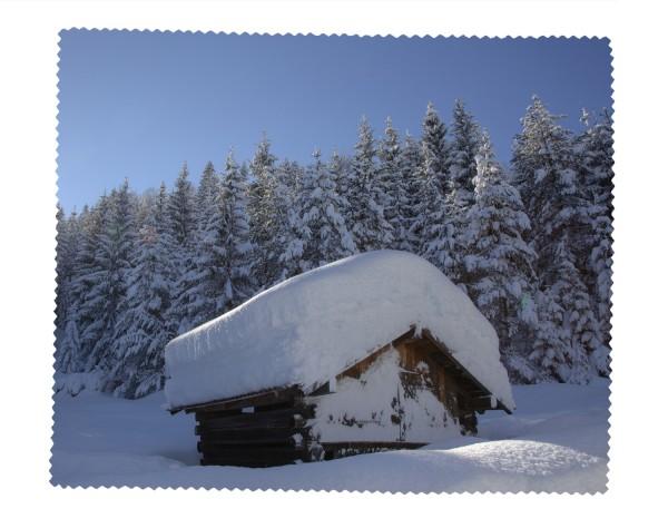 Heustadl schneebedeckt