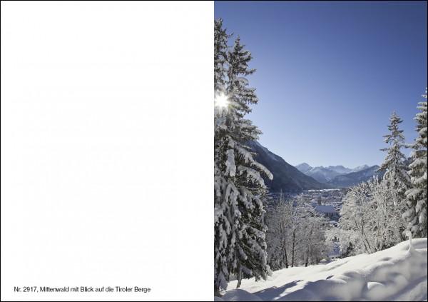 Weihnachtskarte Nr. 2917