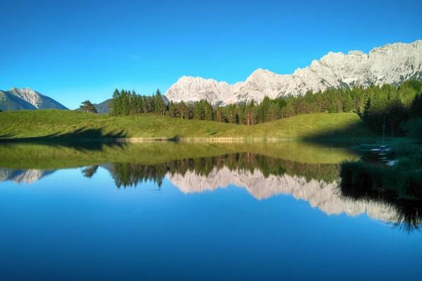 Karwendelblick vom Wildensee