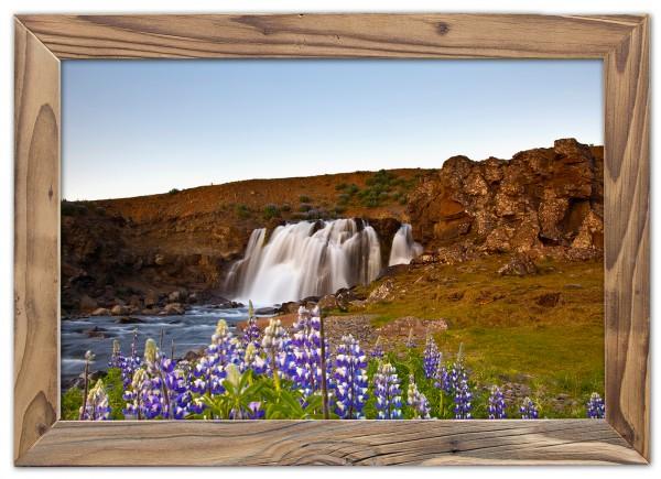 Abend am Wasserfall
