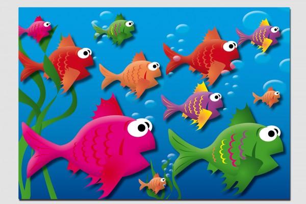 Tischset Fische