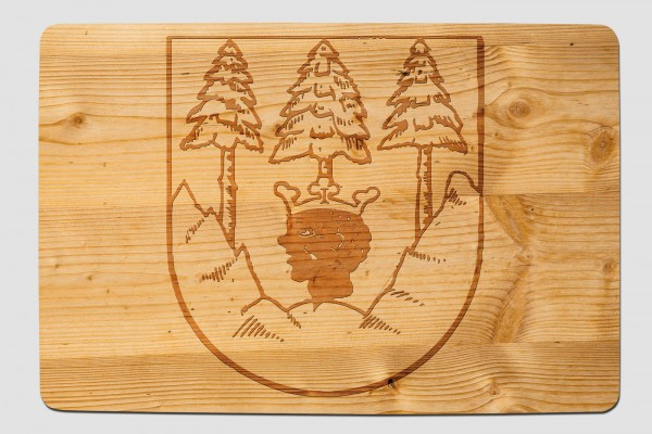 Fussmatte Mittenwalder Wappen