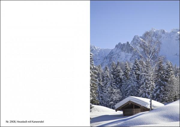 Weihnachtskarte Nr. 2908