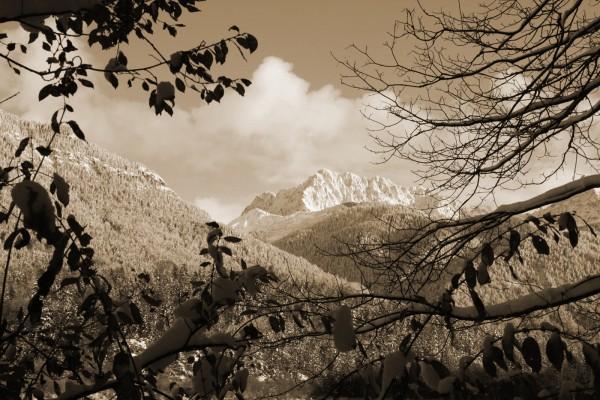 Wörnergebirge im Winter