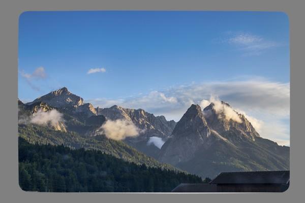 Fußmatte Alpspitze-Zugspitze-Waxnstoa