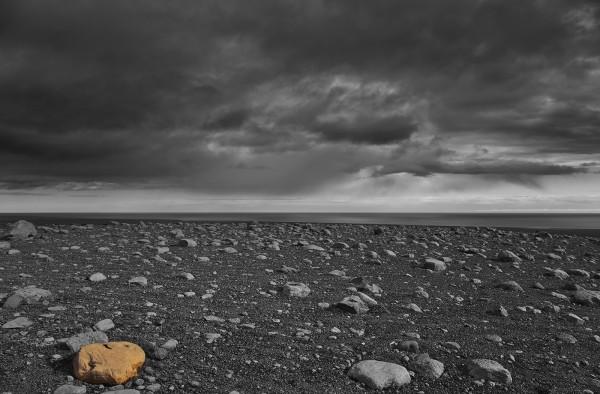 Isländische Steinwüste
